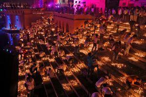 Lung linh lễ hội ánh sáng Diwali
