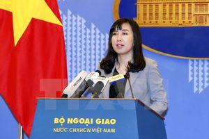 Việt Nam phản đối Trung Quốc đưa vào sử dụng các trạm quan trắc ở khu vực quần đảo Trường Sa