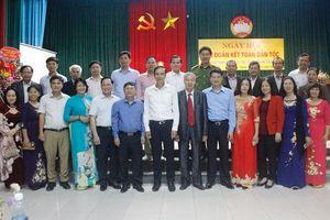 Phó Bí thư Thành ủy Đào Đức Toàn dự Ngày hội Đại đoàn kết toàn dân tộc tại huyện Hoài Đức