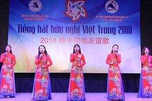 Nâng tầm Cuộc thi 'Tiếng hát Hữu nghị Việt- Trung' 2018