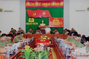 Công an Hà Nội được bình bầu đề nghị nhận Cờ thi đua của Thủ tướng Chính phủ về phong trào 'Vì ANTQ' năm 2018