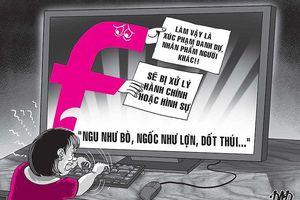 Bàn cách chống các 'hội chửi' trên mạng
