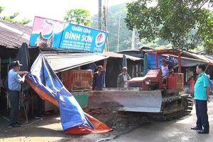 Lập lại trật tự khu du lịch Hòn Phụ Tử ở Kiên Giang