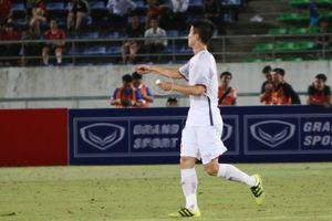 HLV Park Hang-seo gửi mật thư cho Duy Mạnh trong chiến thắng Lào
