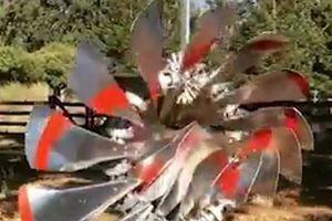 Chiếc quạt gió tạo ảo giác 3D đẹp mắt