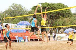 Bóng chuyền bãi biển mở đầu tại Đại hội Thể thao toàn quốc lần VIII