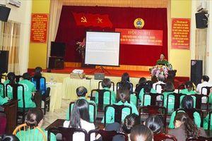 LĐLĐ tỉnh Yên Bái tuyên truyền phòng chống tội phạm tới CNLĐ