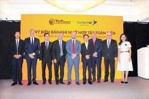 Tập đoàn T&T Group ký kết biên bản ghi nhớ hợp tấc toàn diện với hiệp hội doanh nghiệp Hunternet (Australia)