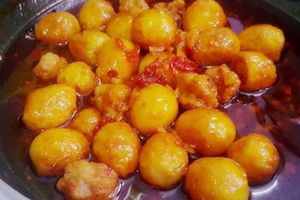 Trứng cút rim sa tế: Món mặn đưa cơm cho ngày se lạnh