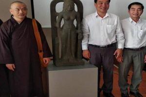 Người dân Vĩnh Long giao nộp tượng nữ thần Saraswati 7,5 tỷ đồng