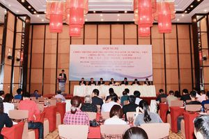 Hội chợ Thương mại - Du lịch Việt -Trung có quy mô hơn 800 gian hàng