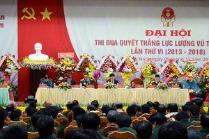 Đại hội thi đua Quyết thắng LLVT tỉnh Quảng Nam lần thứ VI