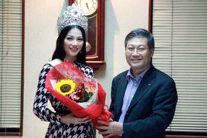 ĐSQ Việt Nam tại Philippines gặp mặt thân mật Hoa hậu Trái đất 2018