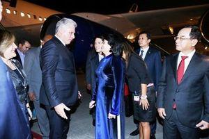 Chủ tịch Cuba thăm hữu nghị chính thức Việt Nam