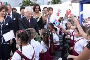 Thúc đẩy hợp tác trên các lĩnh vực, tương xứng với quan hệ chính trị Việt Nam - Cuba