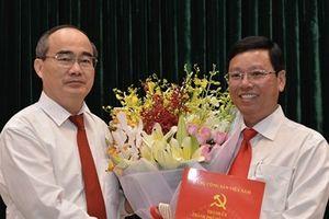 Bổ nhiệm ông Vũ Ngọc Tuất giữ chức Bí thư Quận ủy quận Bình Thạnh