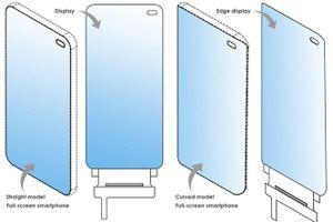LG có bằng sáng chế smartphone với thiết kế toàn màn hình