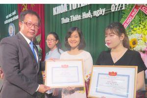 ĐH Sư phạm Huế đào tạo cao học cho học viên Hàn Quốc, Lào