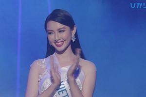 Thùy Tiên trượt top 15 'Hoa hậu Quốc tế 2018'