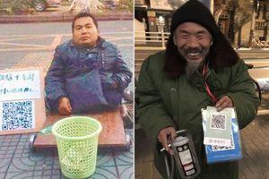 Ăn xin Trung Quốc thời công nghệ 'sống khỏe' nhờ... mã QR