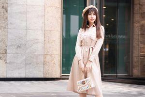 'Mỹ nhân Sài Thành' Phương Đài gợi ý trang phục dạo phố Đông cá tính