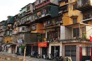 Hà Nội: 20 đơn vị được giao lập quy hoạch chung cư cũ