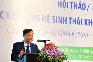 Triển vọng kết nối hệ sinh thái khởi nghiệp sáng tạo Việt Nam – Hàn Quốc