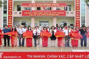 Thêm một cơ sở sát hạch lái xe ô tô lớn nhất Bắc miền Trung tại Hà Tĩnh