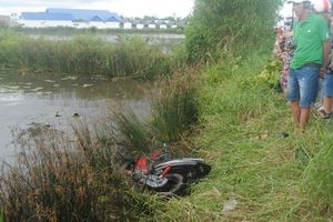 Tìm thấy thi thể thanh niên cách hiện trường xe máy bị ngã 500 mét