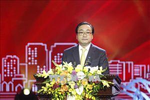 Bí thư Hà Nội Hoàng Trung Hải dự Ngày hội Đại đoàn kết toàn dân tộc ở khu dân cư