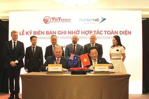 Tập đoàn T&T Group ký kết biên bản ghi nhớ hợp tác toàn diện với Hiệp hội DN Hunternet
