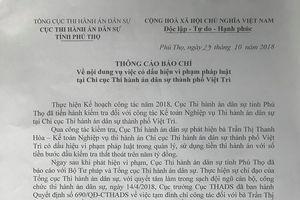 Phú Thọ: Hàng loạt cán bộ bị khởi tố