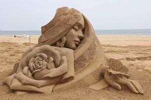 Chiêm ngưỡng 20 tác phẩm nghệ thuật công phu từ cát