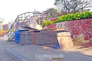 Con đường Gốm sứ giữa lòng Thủ đô vẫn bị xâm hại