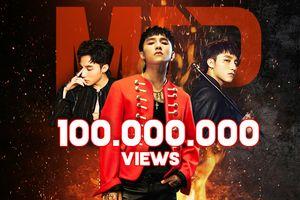 'Chạy ngay đi' chính thức cán mốc 100 triệu views, thời gian MV Sơn Tùng M-TP đạt con số này là…