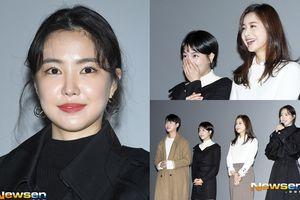 Khán giả Hàn nói gì khi Son Na Eun (Apink) già nua kém sắc, lép vé trước 'tiền bối' gần 40 tuổi tại sự kiện ra mắt phim?