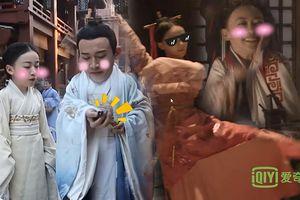 Ngô Cẩn Ngôn trở thành cảm hứng 'dìm hàng' của đoàn phim 'Hạo Lan truyện': Múa may quay cuồng, ngã lăn cù mèo