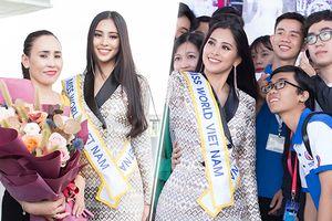 Cả mẹ lẫn cô giáo, bạn học tiễn Trần Tiểu Vy lên đường thi Miss World: 'Chúc Vy may mắn!'
