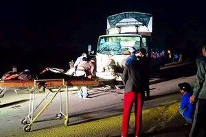 Nghệ An: 3 người tử vong tại chỗ sau va chạm với xe tải