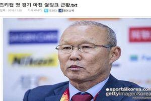 Báo chí Hàn Quốc nói gì sau trận thắng mở màn của ĐTVN tại AFF Cup 2018?