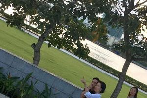 Cường Đô La và Đàm Thu Trang đi xem nhà chuẩn bị cho hôn lễ cổ tích