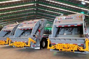 Xe chở rác công nghệ Mỹ giá 10 tỷ đồng/chiếc có mặt ở Việt Nam
