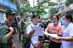 Quận Hai Bà Trưng (Hà Nội): Dịch bệnh giảm mạnh trong 10 tháng