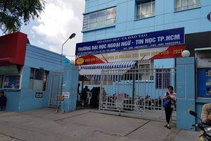 Hiệu trưởng bị miễn nhiệm kiến nghị UBND TPHCM hủy quyết định của hội đồng quản trị nhà trường