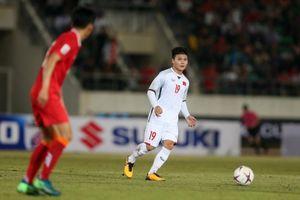 Lào 0-3 Việt Nam: Quang Hải xứng đáng là ngôi sao lớn