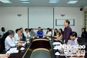 Hội Chữ thập đỏ Việt Nam và Bệnh viện Việt Đức sẽ phối hợp chặt chẽ về nhiều mặt