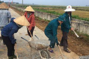 Hà Tĩnh: Xây dựng nông thôn mới là thay đổi nhận thức từ 'phải làm' sang 'muốn được làm'
