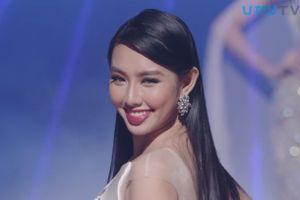 Thùy Tiên tỏa sáng trong phần thi trang phục dạ hội Miss International
