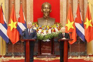 Chủ tịch Cuba: 'Mối quan hệ Việt Nam và Cuba sẽ luôn đặc biệt'