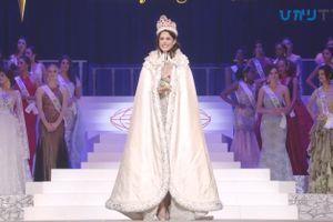 Maziem Velazco hạnh phúc khi đăng quang Hoa hậu Quốc tế
